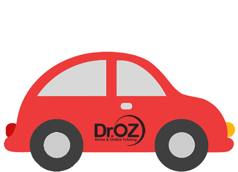 Dr. OZ Home & Online Tutoring Car graphic